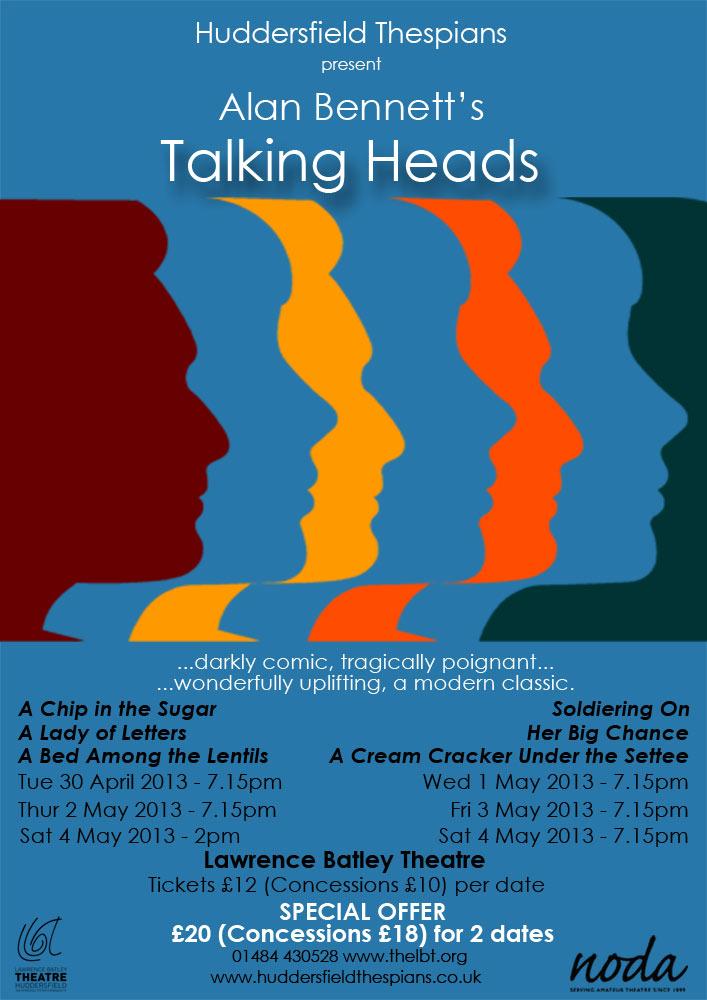 Alan Bennett Talking Heads