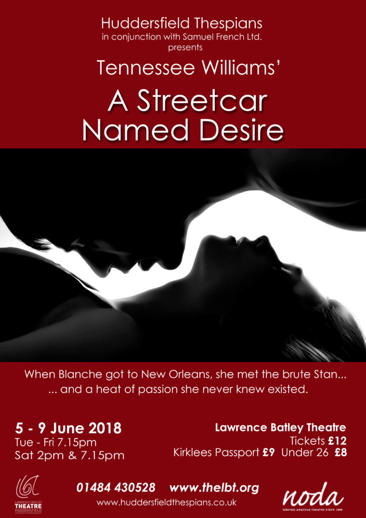 A Streetcar Named Desire Final Poster